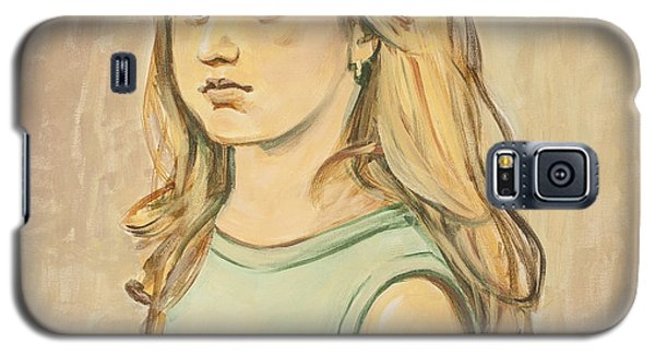 The Girl With The Golden Hair Galaxy S5 Case by Olimpia - Hinamatsuri Barbu