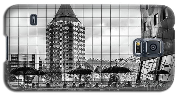 Galaxy S5 Case featuring the photograph The Glass Windows Of The Market Hall In Rotterdam by RicardMN Photography