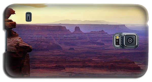 The Gold Light Of Dawn Galaxy S5 Case