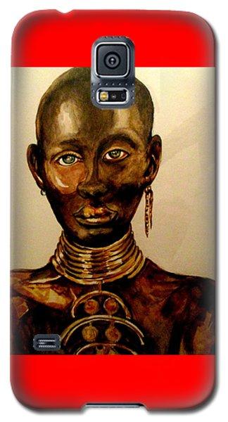 The Golden Black Galaxy S5 Case