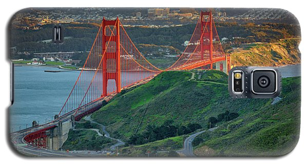 The Golden Gate At Sunset Galaxy S5 Case