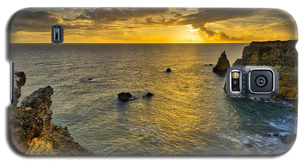 Galaxy S5 Case featuring the photograph The Golden Hour - Cabo Rojo - Puerto Rico by Photography By Sai