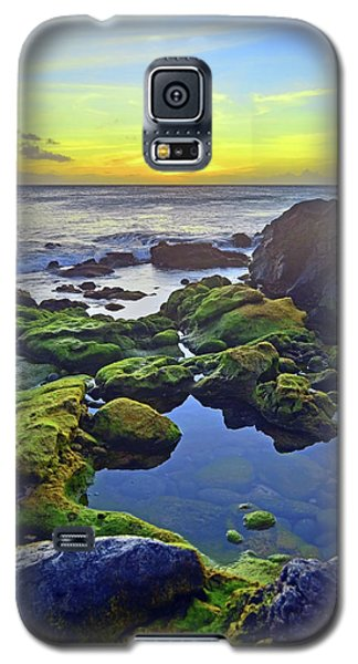 Galaxy S5 Case featuring the photograph The Golden Skies Of Molokai by Tara Turner
