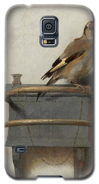 The Goldfinch, 1654  Galaxy S5 Case by Carel Fabritius