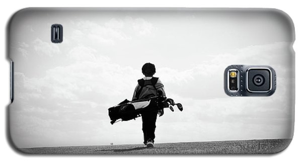 The Golfer Galaxy S5 Case by Shawn Wood