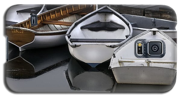 Skiffs On Placid Waters-coastal Maine Galaxy S5 Case