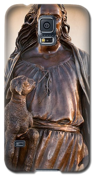 Galaxy S5 Case featuring the photograph The Good Shepard by Monte Stevens