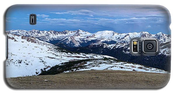 The Gore Range At Sunrise - Rocky Mountain National Park Galaxy S5 Case by Ronda Kimbrow