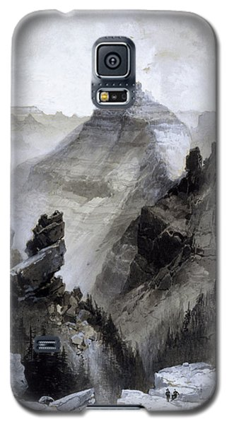 The Grand Canyon Drawing            Galaxy S5 Case by Thomas Moran