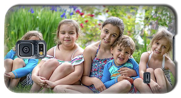 The Grand Kids In The Garden Galaxy S5 Case