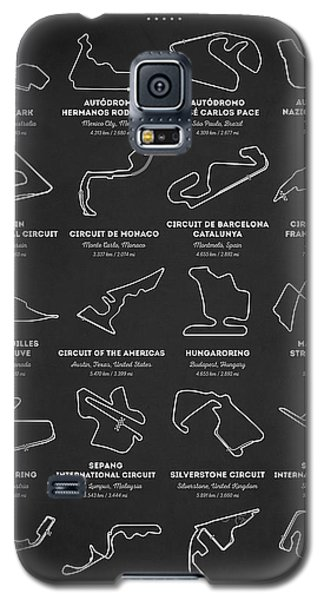 The Grand Prix Circuits Galaxy S5 Case
