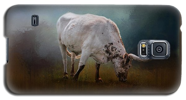 The Grazing Texas Longhorn Galaxy S5 Case