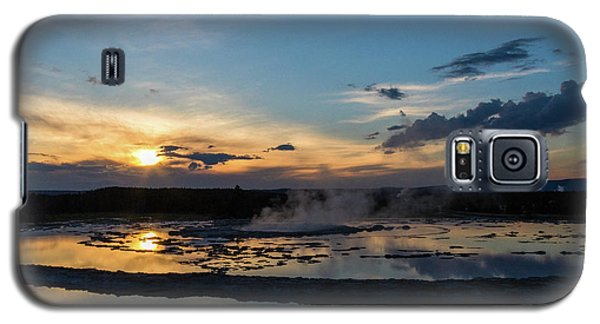 The Great Fountain Geyser Galaxy S5 Case