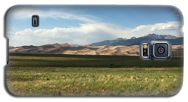 Galaxy S5 Case featuring the photograph The Great Sand Dunes by Christin Brodie