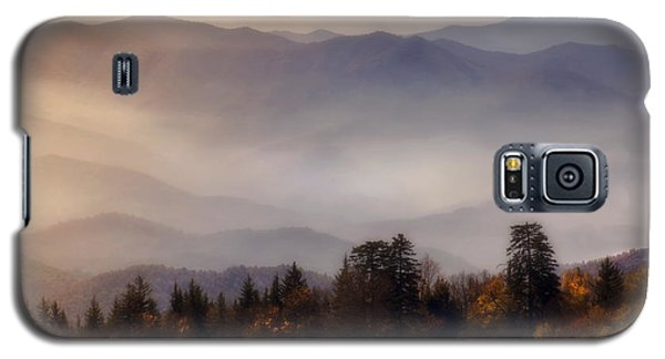Galaxy S5 Case featuring the photograph The Great Smoky Mountains by Ellen Heaverlo