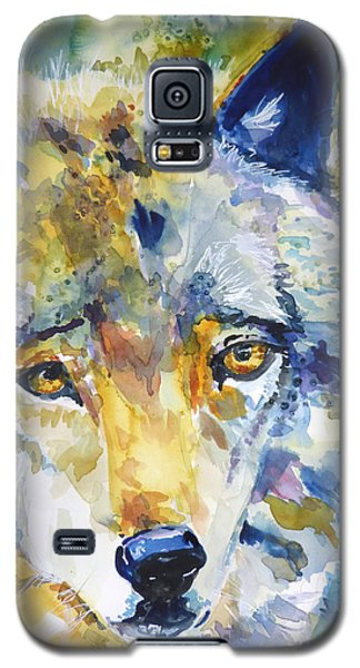 The Great Technicolor Wolf Galaxy S5 Case