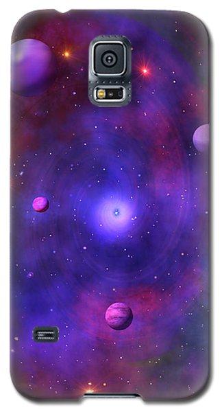Galaxy S5 Case featuring the digital art The Great Unknown by Bernd Hau