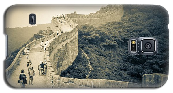 Galaxy S5 Case featuring the photograph The Great Wall Of China by Heiko Koehrer-Wagner