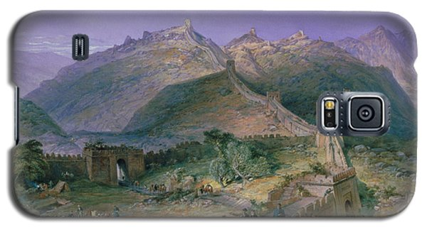 The Great Wall Of China Galaxy S5 Case by William Simpson