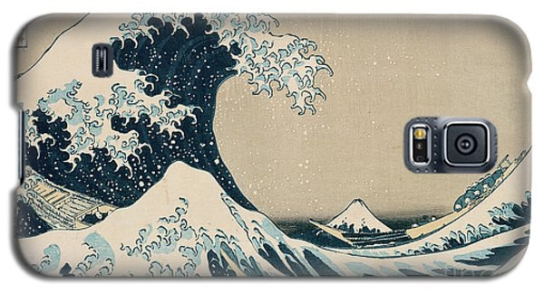 The Great Wave Of Kanagawa Galaxy S5 Case by Hokusai