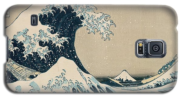 Transportation Galaxy S5 Case - The Great Wave Of Kanagawa by Hokusai