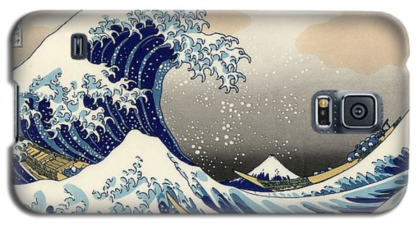 The Great Wave Off Kanagawa Galaxy S5 Case