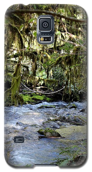 The Green Seen Galaxy S5 Case by Marie Neder