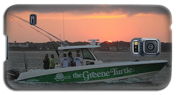 The Greene Turtle Power Boat Galaxy S5 Case