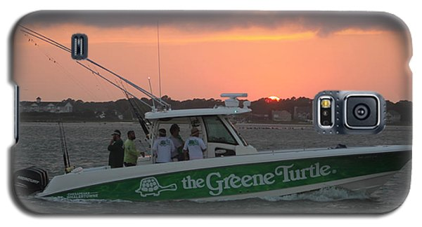 The Greene Turtle Power Boat Galaxy S5 Case