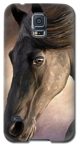 Galaxy S5 Case featuring the painting The Grey by James Shepherd