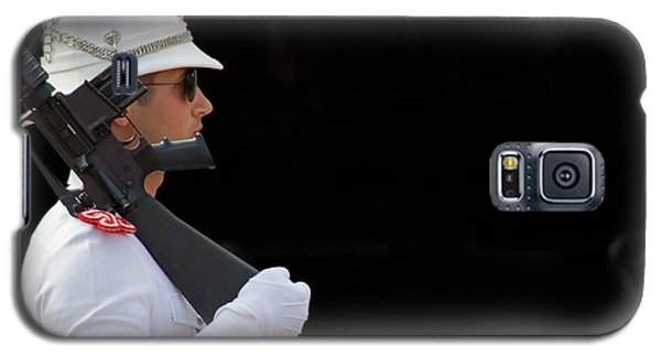 Galaxy S5 Case featuring the photograph The Guard by Keith Armstrong