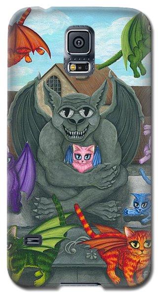 The Guardian Gargoyle Aka The Kitten Sitter Galaxy S5 Case