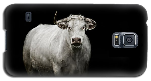Bull Galaxy S5 Case - The Guardian by Paul Neville