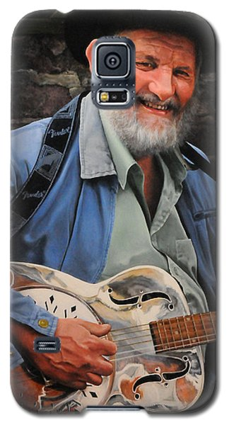 The Guitar Player Galaxy S5 Case