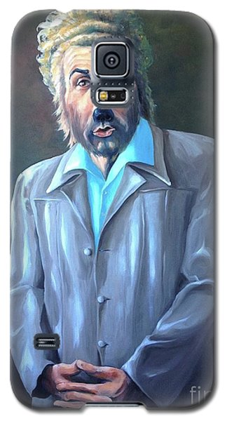 Galaxy S5 Case featuring the painting The Gunther by Diane Daigle