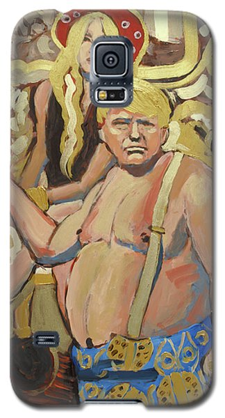 The Half Naked Truth Cries Fake News Galaxy S5 Case