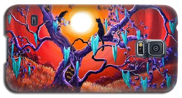 The Halloween Tree Galaxy S5 Case by Laura Iverson