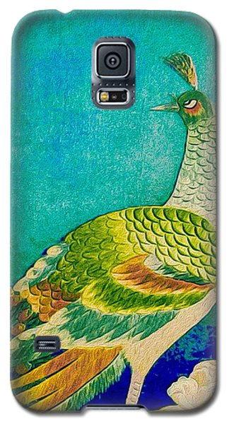 The Handsome Peacock - Kimono Series Galaxy S5 Case