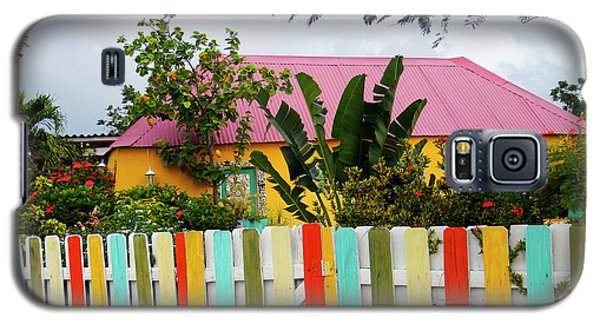 Galaxy S5 Case featuring the photograph The Happy House, Island Of Curacao by Kurt Van Wagner