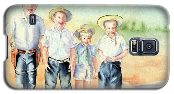 The Happy Wranglers Galaxy S5 Case