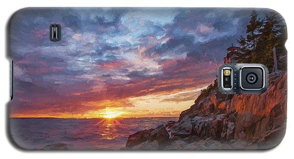 The Harbor Dusk  Iv Galaxy S5 Case
