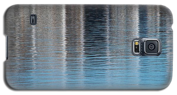Galaxy S5 Case featuring the photograph The Harbor Reflects by Karol Livote