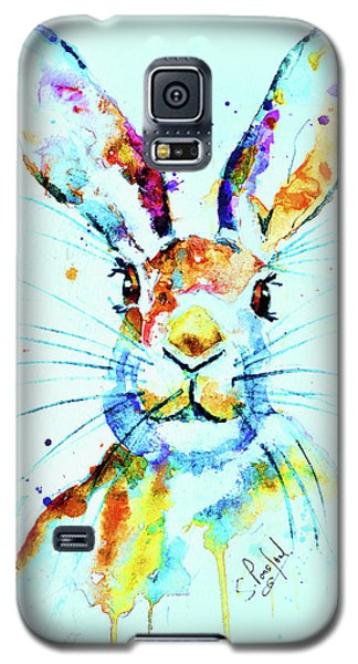 Galaxy S5 Case featuring the painting The Hare by Steven Ponsford