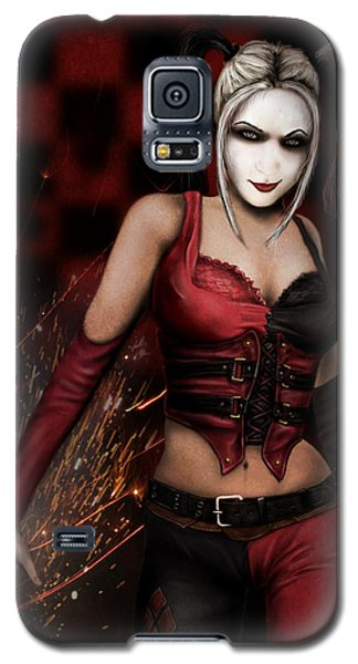 The Harley Quinn Galaxy S5 Case