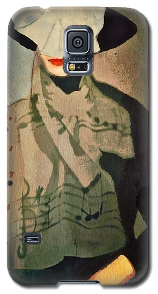 Galaxy S5 Case featuring the digital art The Hat by Alexis Rotella