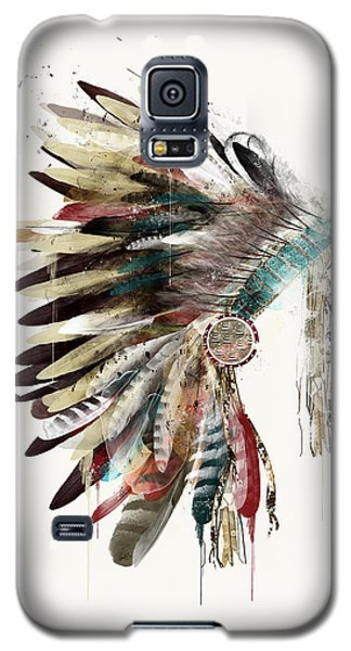 The Headdress Galaxy S5 Case by Bri B