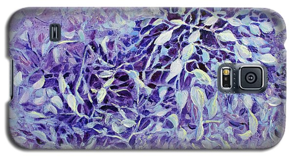 Galaxy S5 Case featuring the painting The Healing Power Of Amethyst by Joanne Smoley