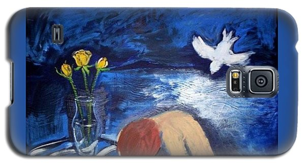 Galaxy S5 Case featuring the painting The Healing by Winsome Gunning