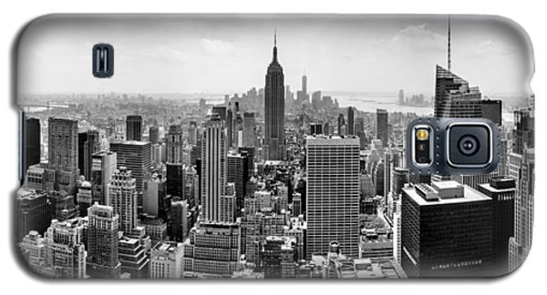 Apple Galaxy S5 Case - New York City Skyline Bw by Az Jackson