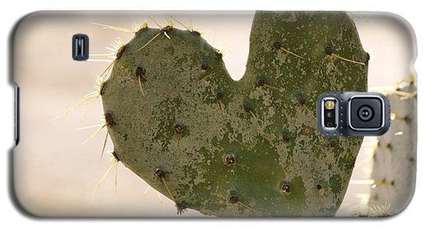 Galaxy S5 Case featuring the photograph The Heart Of Texas by Debbie Karnes